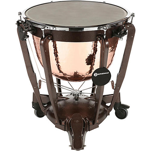 Bergerault Grand Professional Series Hand-Hammered Cambered Copper Bowl Timpani 32 in.