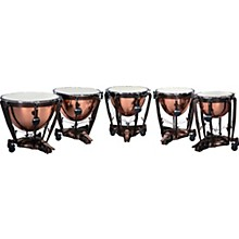 Bergerault Grand Professional Series Timpani Set with Parabolic Smooth Copper Bowls