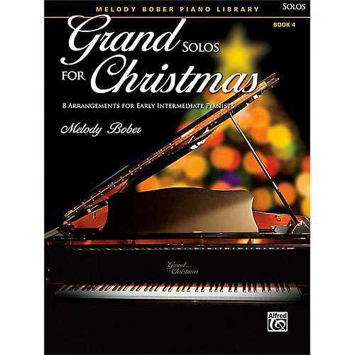 Alfred Grand Solos for Christmas, Book 4 Early Intermediate