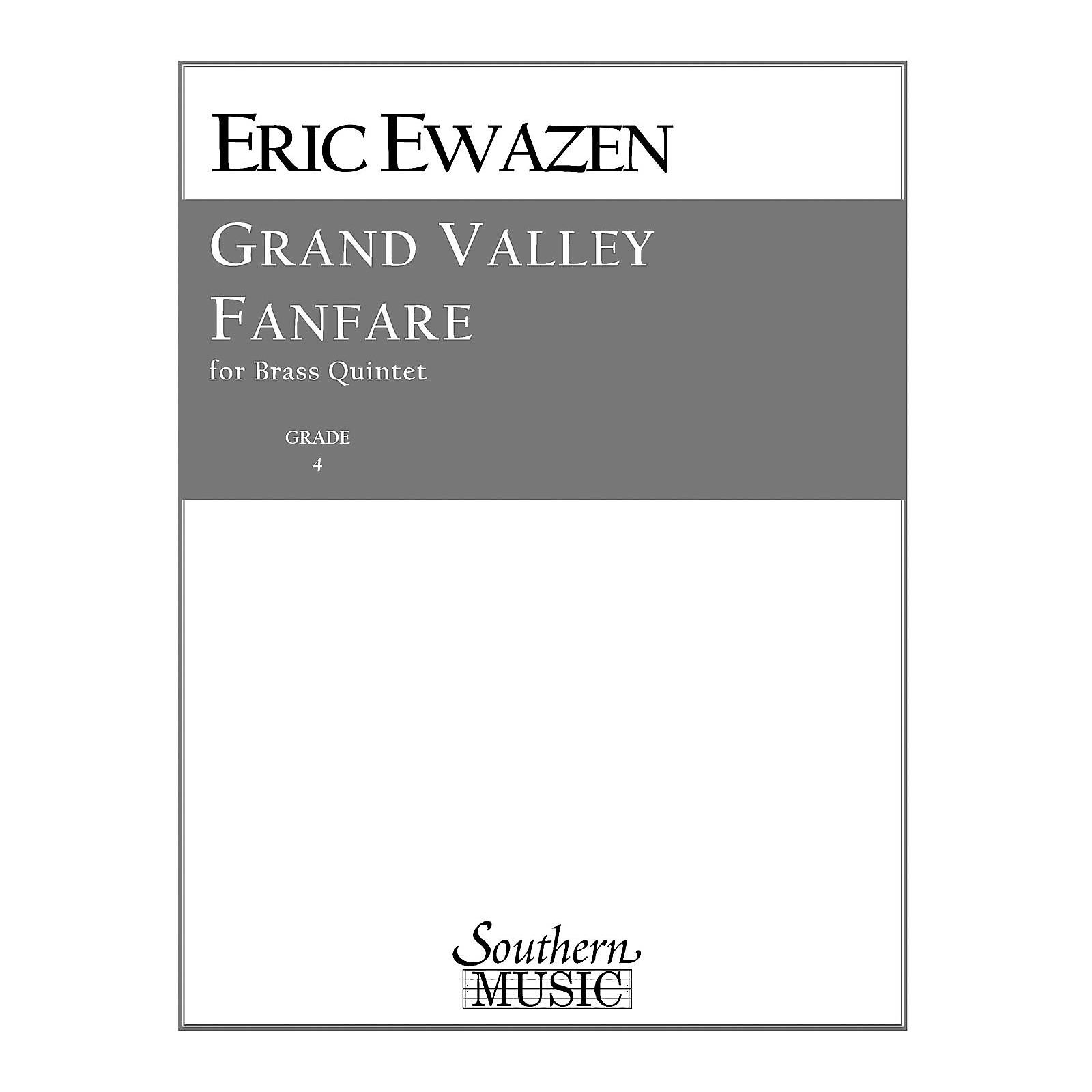 Southern Grand Valley Fanfare (Brass Quintet) Southern Music Series by Eric Ewazen