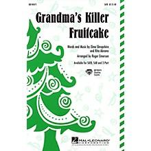 Hal Leonard Grandma's Killer Fruitcake 2-Part Arranged by Roger Emerson