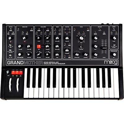 Moog Grandmother Dark Semi-Modular Analog Synthesizer