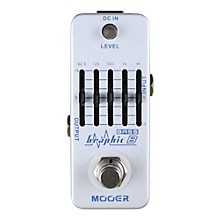 Open Box Mooer Graphic B Bass Equalizer Effects Pedal