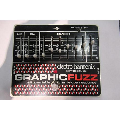 Electro-Harmonix Graphic Fuzz XO Fuzz Effect Pedal