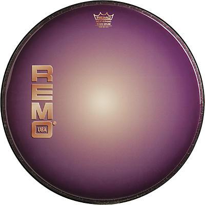Remo Graphic Heads Purple Sunburst Resonant Bass Drum Head