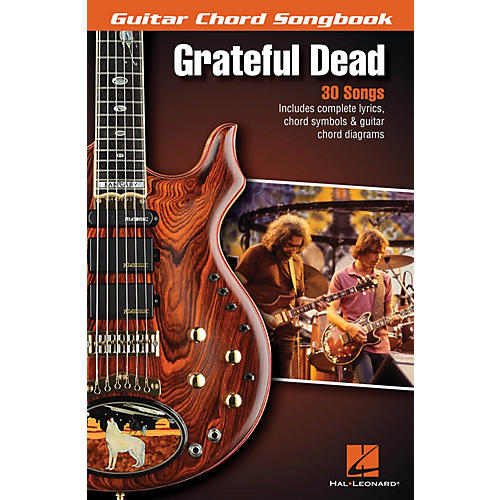 Hal Leonard Grateful Dead - Guitar Chord Songbook Guitar Chord Songbook Series Softcover Performed by Grateful Dead