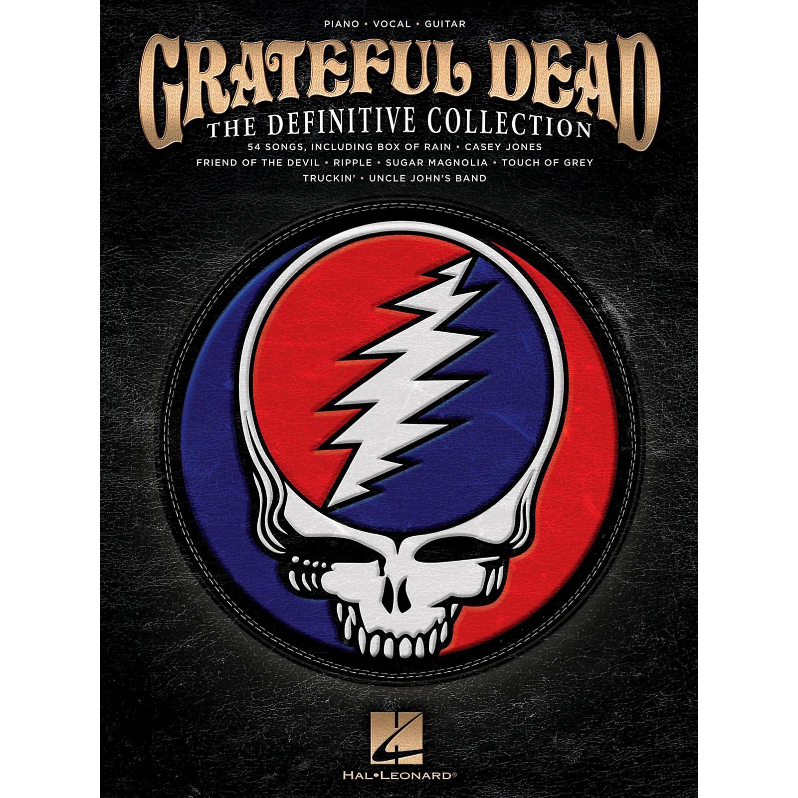 Hal Leonard Grateful Dead - The Definitive Collection Piano/Vocal/Guitar