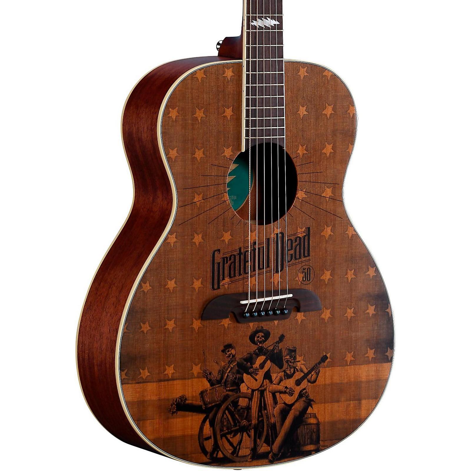 Alvarez Grateful Dead 50th Anniversary Acoustic Guitar