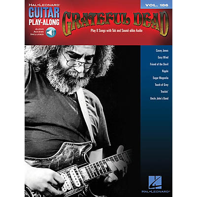 Hal Leonard Grateful Dead Guitar Play-Along Series Softcover Audio Online Performed by Grateful Dead