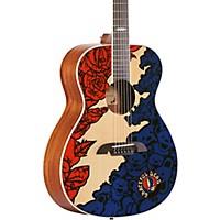 Deals on Alvarez Grateful Dead OM Acoustic Guitar- Lightning