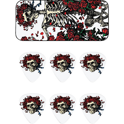 Dunlop Grateful Dead Rosemary Pick Tin with 6 Picks