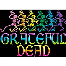 C&D Visionary Grateful Dead Skelly & Rainbow Magnet