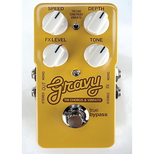 TC Electronic Gravy Tri-Chorus and Vibrato Guitar Effects Pedal