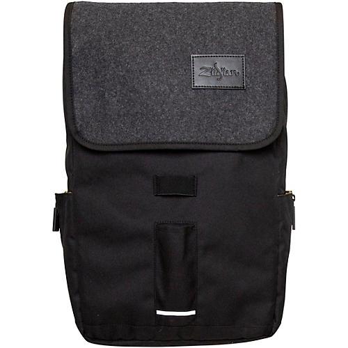 Zildjian Gray Flap Laptop Backpack Gray