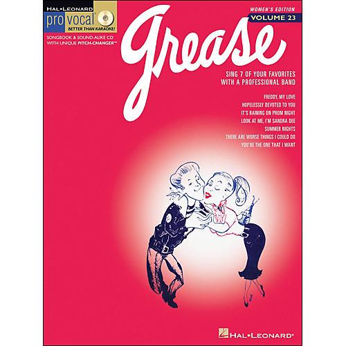 Hal Leonard Grease - Pro Vocal Series Women's Edition Volume 23 Book/CD