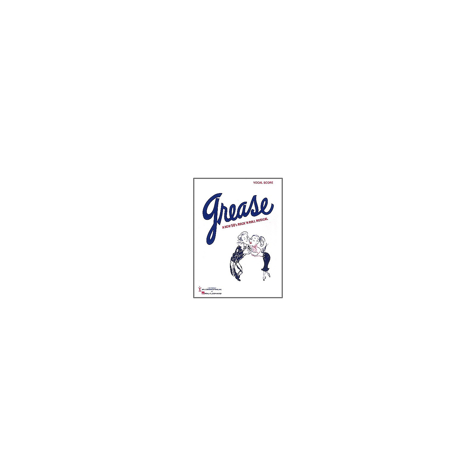 Hal Leonard Grease Vocal Score Songbook