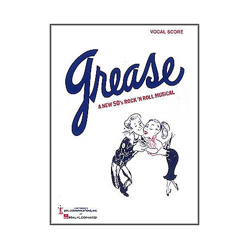 Hal Leonard Grease Vocal Score Songbook
