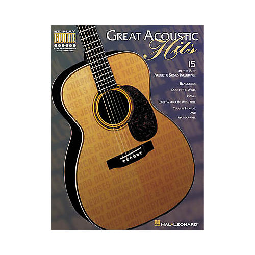 Hal Leonard Great Acoustic Hits Book