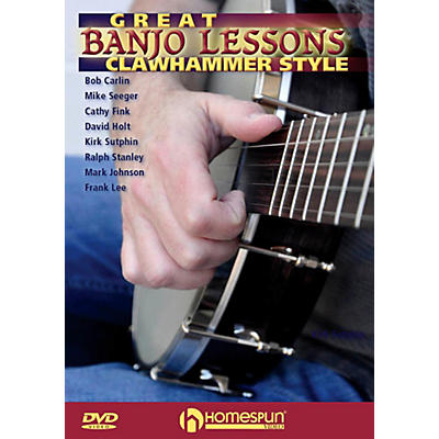 Homespun Great Banjo Lessons: Clawhammer Style DVD