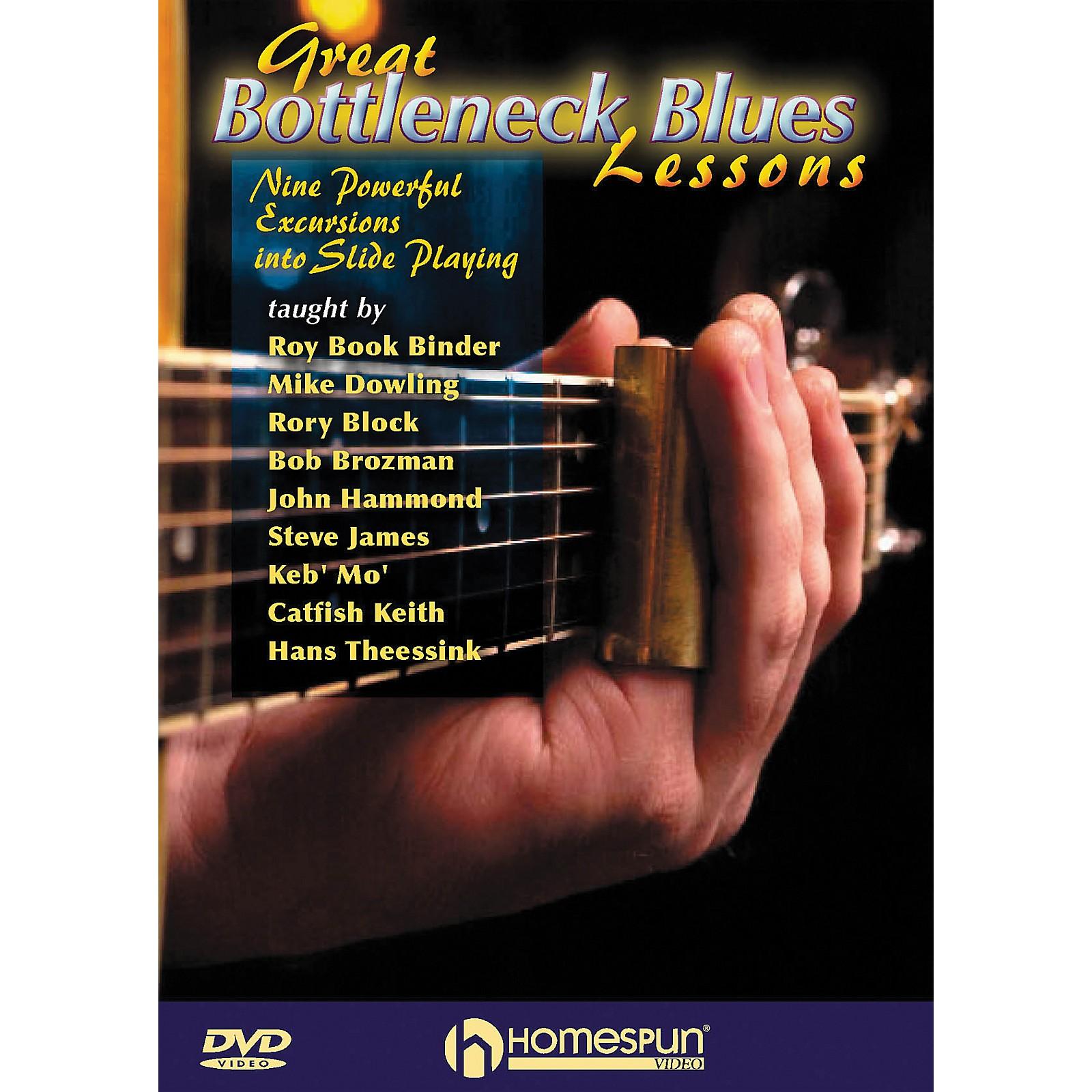 Homespun Great Bottleneck Blues Guitar Lessons (DVD)