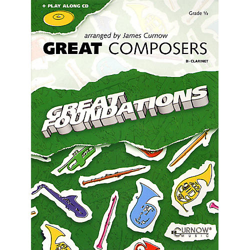 Curnow Music Great Composers (Bb Clarinet - Grade 0.5) Concert Band Level 1/2