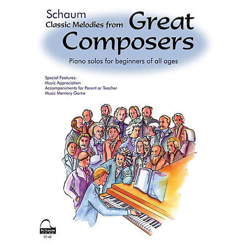 SCHAUM Great Composers Educational Piano Series Softcover