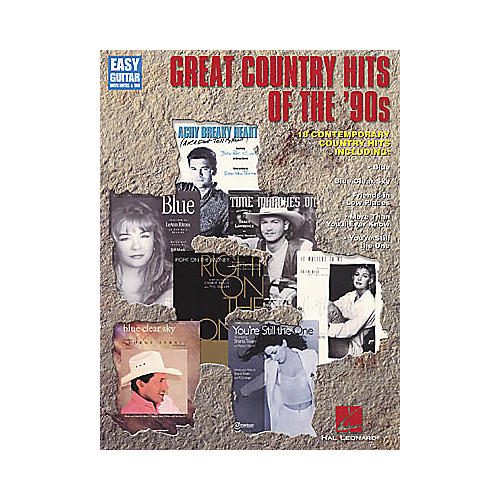 Hal Leonard Great Country Hits of the '90s Easy Guitar Book