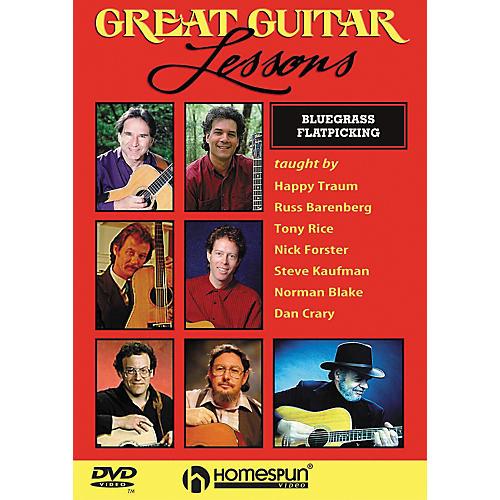 Homespun Great Guitar Lessons - Bluegrass Flatpicking (DVD)