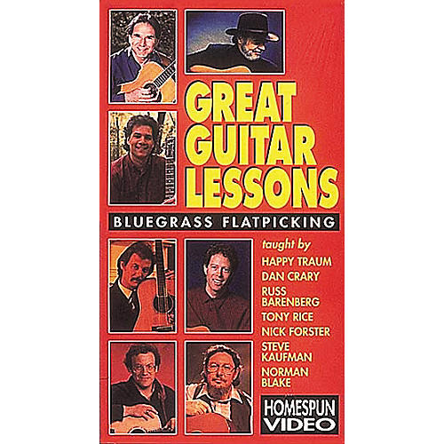 Hal Leonard Great Guitar Lessons - Bluegrass Flatpicking Video
