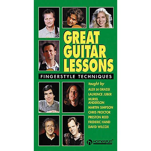 Hal Leonard Great Guitar Lessons - Fingerstyle Techniques