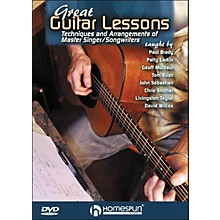 Homespun Great Guitar Lessons: Techniques And Arrangements Of Master Singer / Songwriters DVD