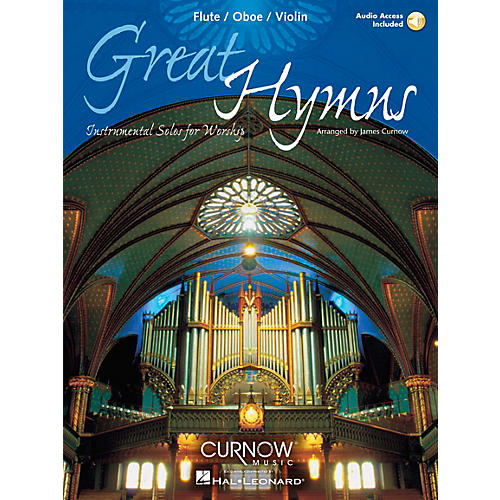 Curnow Music Great Hymns (Flute/Oboe/Violin - Grade 3-4) Concert Band Level 3-4
