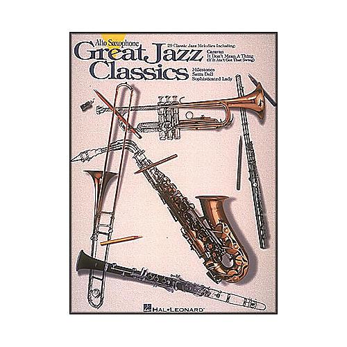 Hal Leonard Great Jazz Classics for Alto Sax