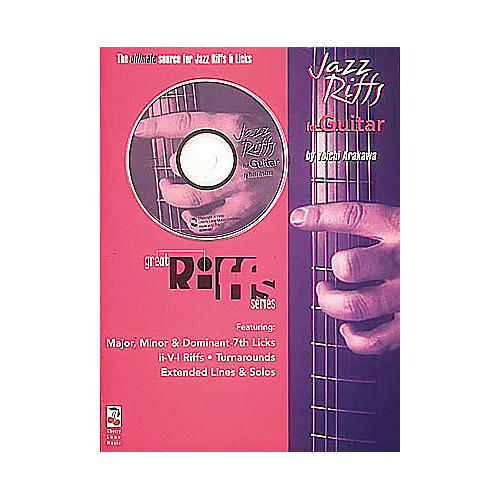 Hal Leonard Great Jazz Riffs for Guitar Book/CD