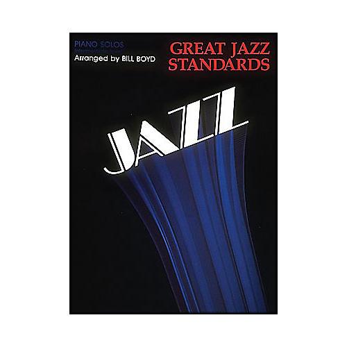 Hal Leonard Great Jazz Standards - Piano Solos - Intermediate Level