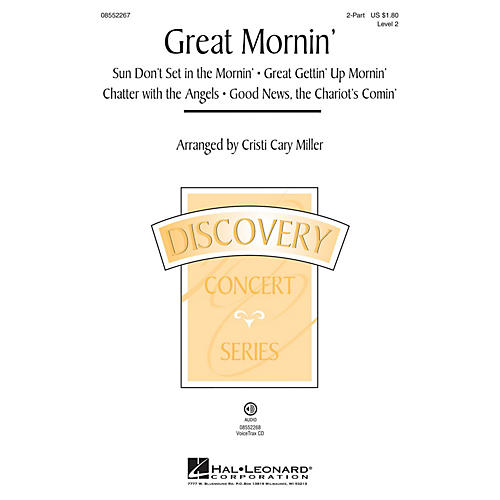 Hal Leonard Great Mornin' (Discovery Level 2) 2-Part arranged by Cristi Cary Miller