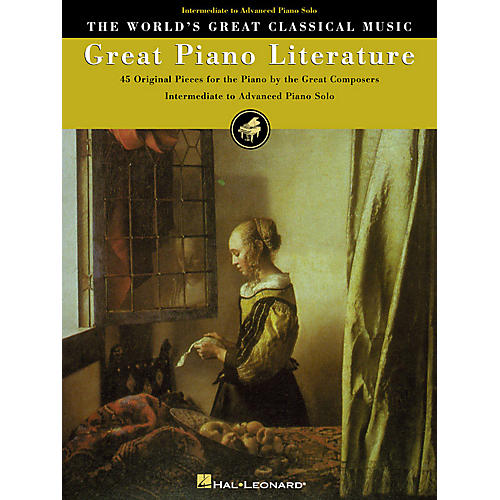 hal leonard great piano literature world 39 s greatest classical music series intermediate. Black Bedroom Furniture Sets. Home Design Ideas