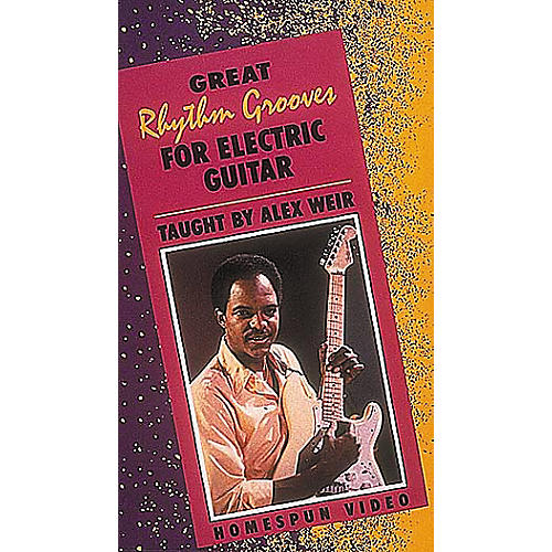 Homespun Great Rhythm Grooves for Electric Guitar (VHS)