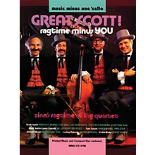 Music Minus One Great Scott! Ragtime Minus You (Music Minus One Cello) Music Minus One Series Softcover with CD