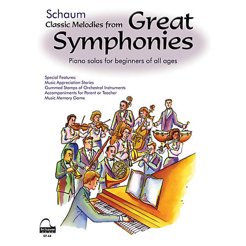 SCHAUM Great Symphonies (rev) Educational Piano Series Softcover
