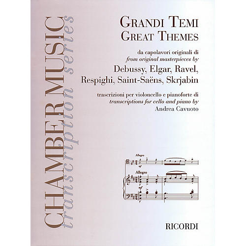 Ricordi Great Themes from Original Masterpieces String Series Softcover