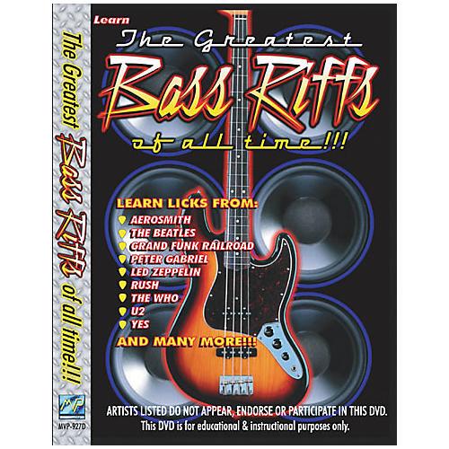 MVP Greatest Bass Riffs of All Time (DVD)
