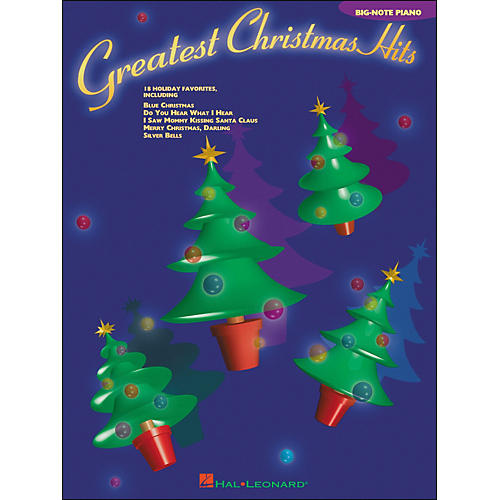 Hal Leonard Greatest Christmas Hits for Big Note Piano