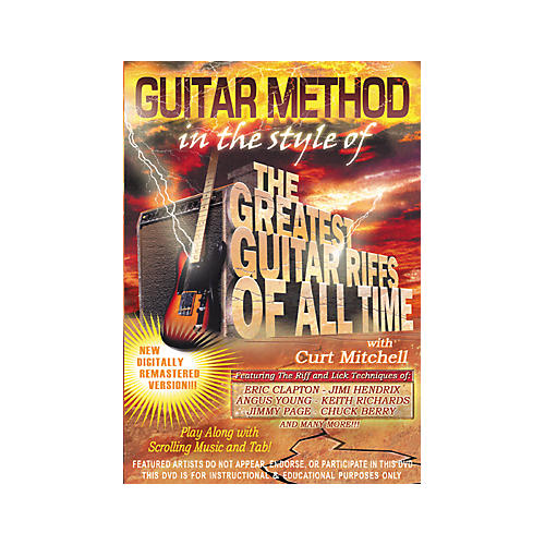 MVP Greatest Guitar Riffs of All Time (DVD)