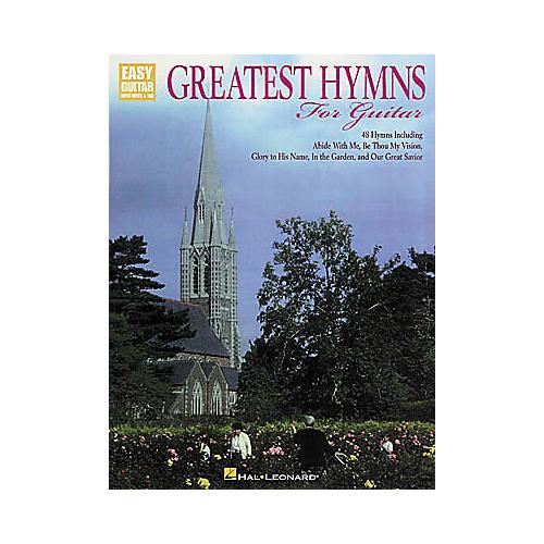 Hal Leonard Greatest Hymns for Guitar