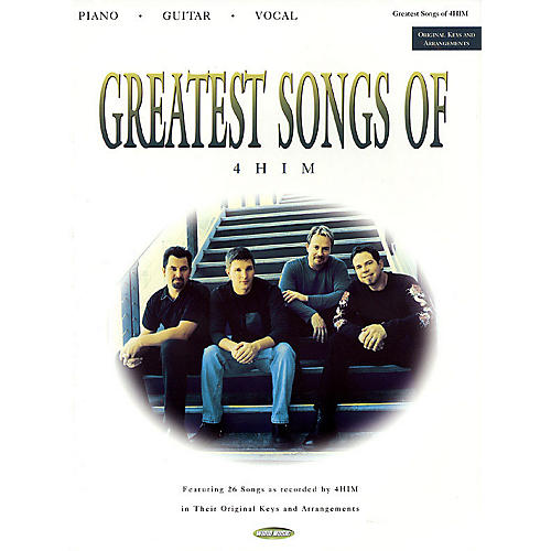 Word Music Greatest Songs of 4HIM Sacred Folio Series Performed by 4Him