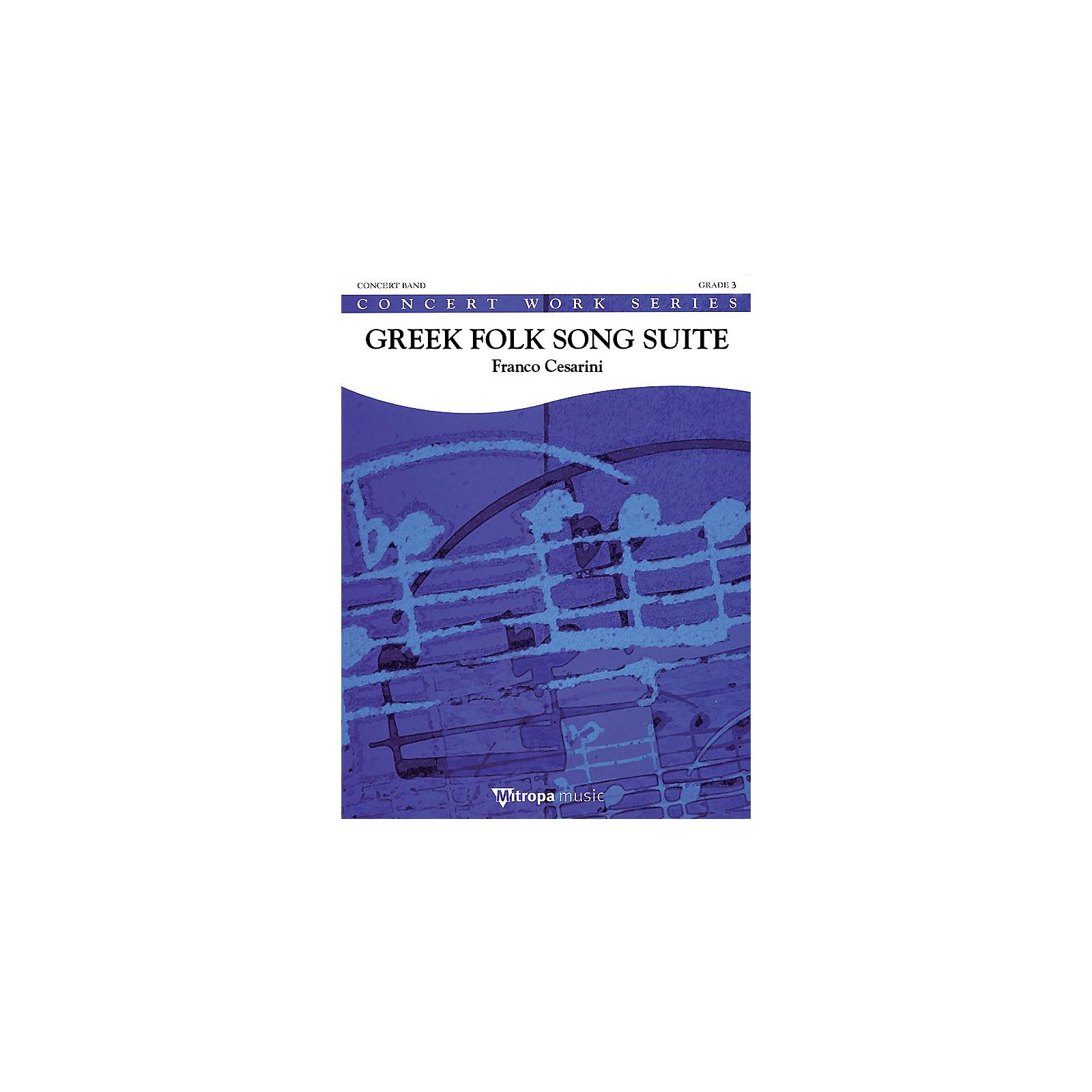 De Haske Music Greek Folk Song Suite (Score Only) Concert Band Composed by Franco Cesarini