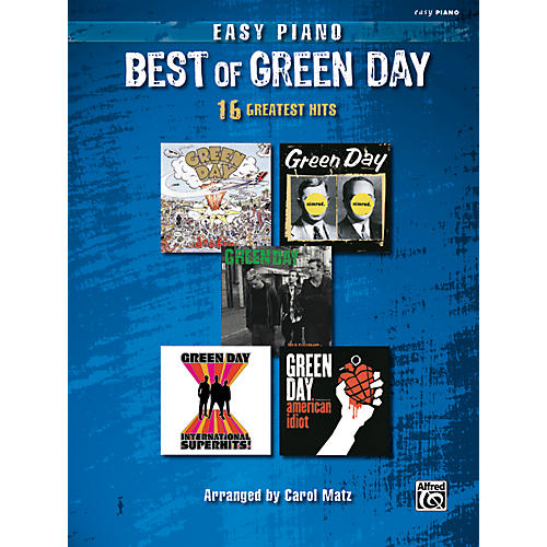 Alfred Green Day - Best Of Easy Piano Songbook