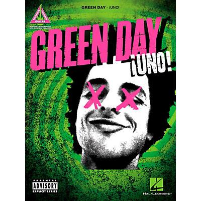 Hal Leonard Green Day - Uno Guitar Tab Songbook