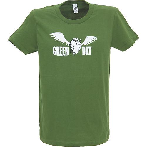 Cinder Block Green Day Flying Grenade Women's T-Shirt